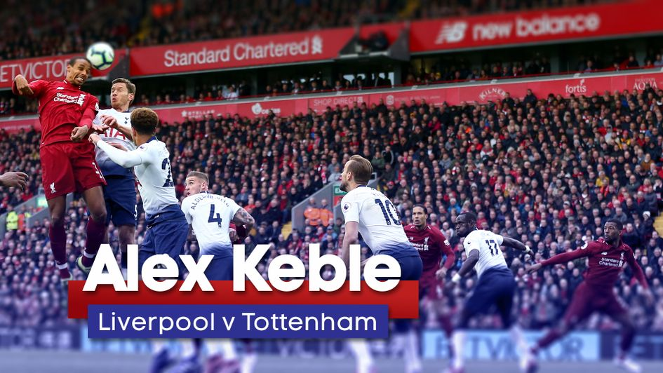 Alex Keble's tactical analysis for Liverpool v Tottenham at Anfield