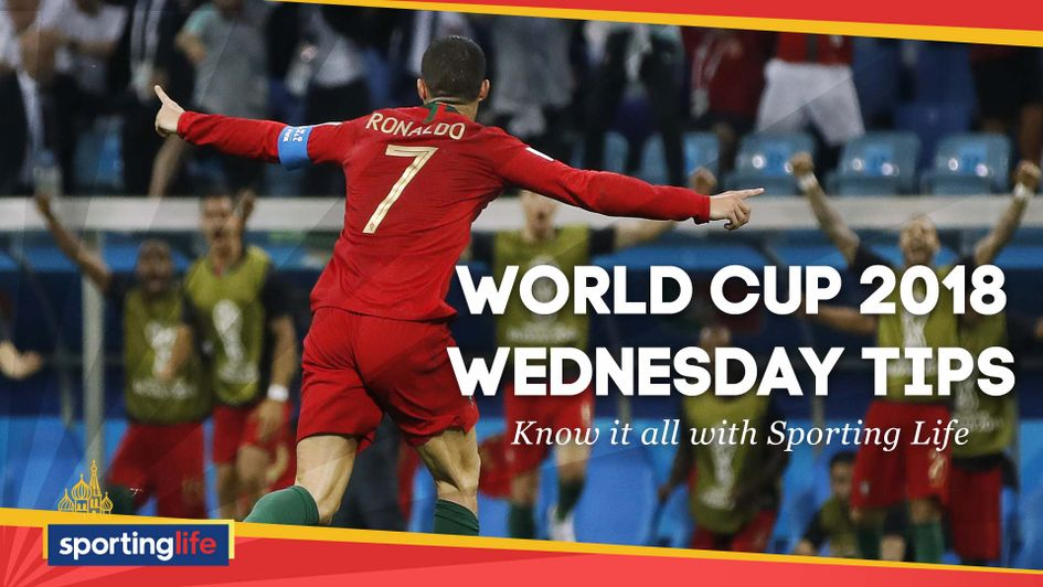 Wednesday's World Cup tips