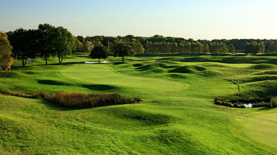 The third hole at Le Golf National