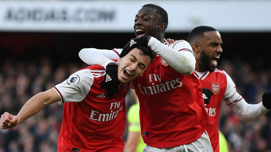 Gabriel Martinelli scored Arsenal opening goal against Sheffield United