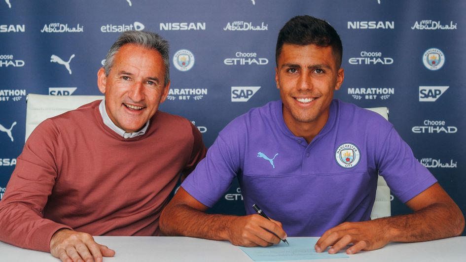 Rodri becomes Manchester City's second summer signing after