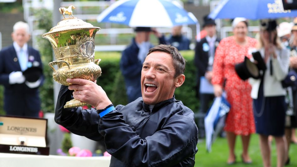 Another special Ascot moment for Frankie Dettori