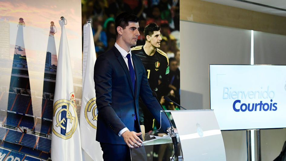 Thibaut Courtois signs for Real Madrid