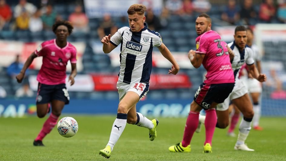 Harvey Barnes in action against QPR