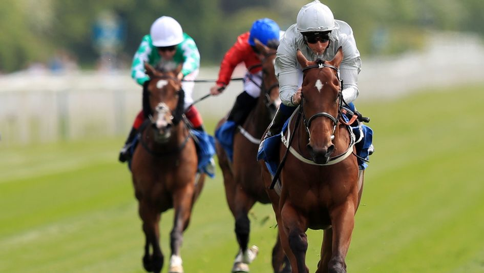 Threading pulls clear under William Buick at York