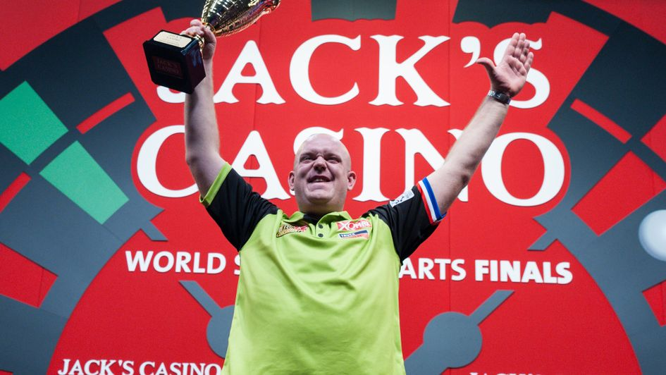 Michael van Gerwen won the World Series of Darts Finals (Picture: Kelly Deckers/PDC)
