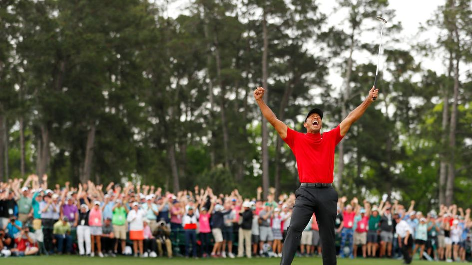 Tiger Woods ends an 11-year wait for major number 15