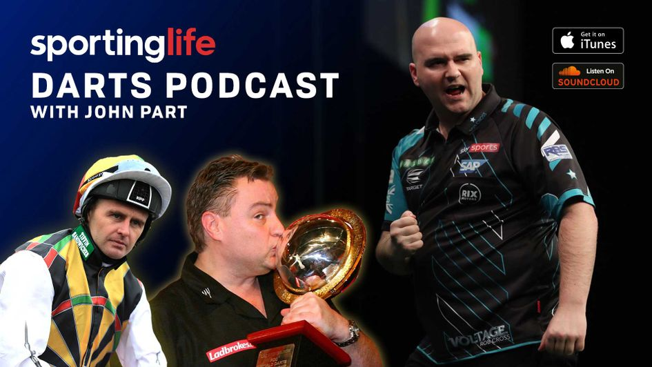 Scroll down for details on how to listen to episode 10 of the Sporting Life Darts Podcast