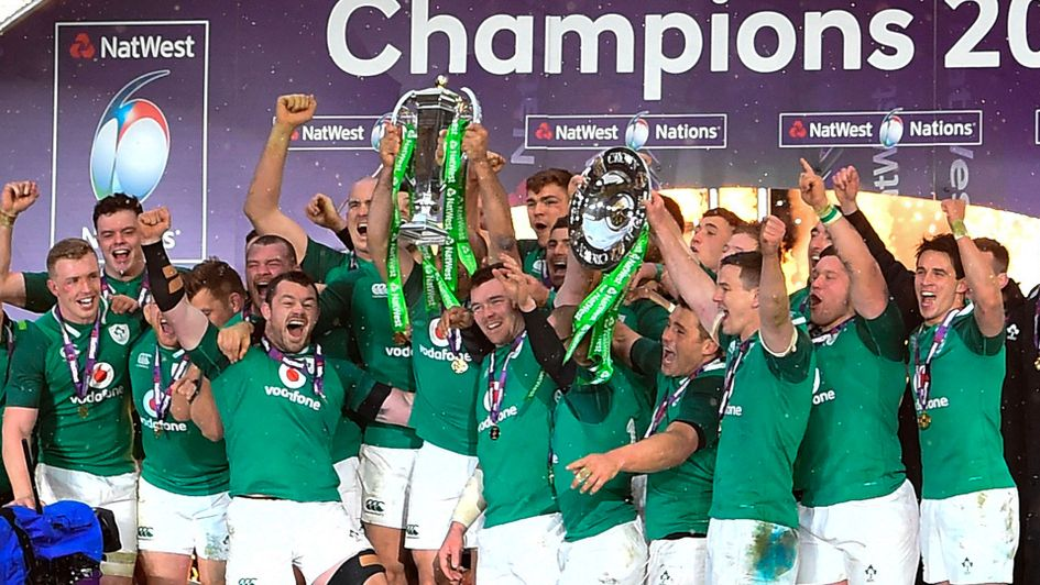 Ireland are the defending Six Nations Champions