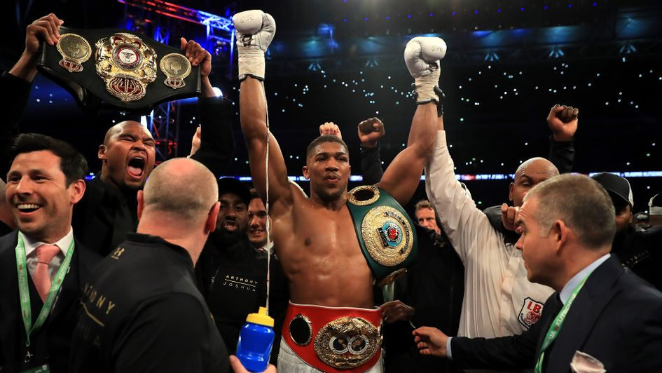 4358ac656 Anthony Joshua confirmed to fight Kubrat Pulev in Cardiff on October ...