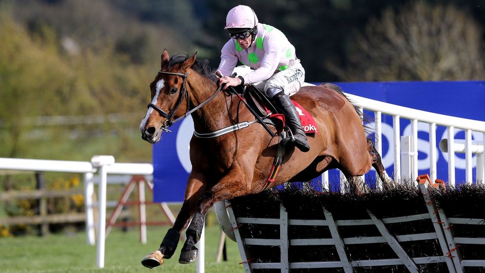 Faugheen clears the last on his way to victory at Punchestown