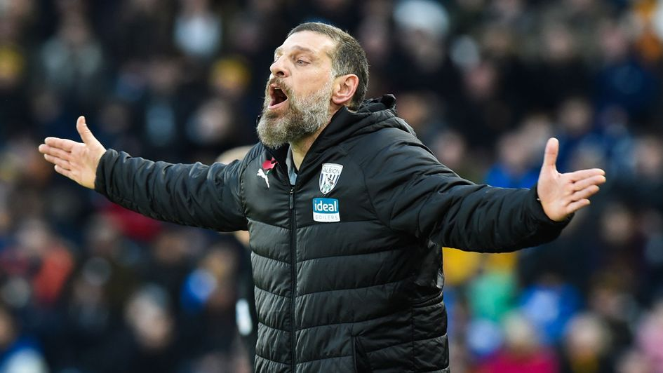 Slaven Bilic's West Brom remain top of the Sky Bet Championship