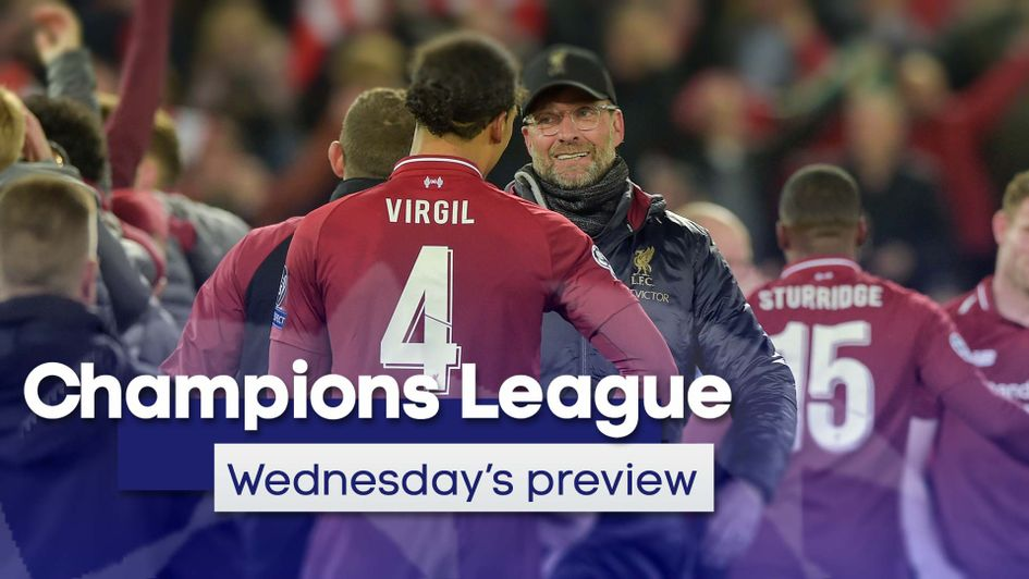 Read our Champions League preview as Liverpool, Chelsea and Barcelona return to action