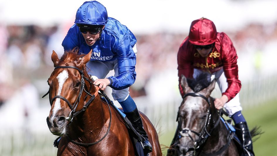 Masar wins the Investec Derby under William Buick