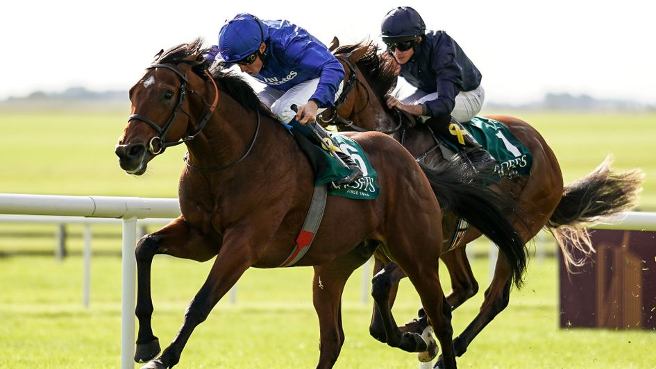 Quorto wins the National Stakes