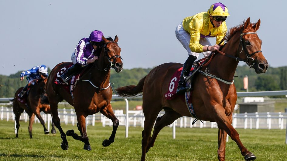 Sea Of Class strides clear at Newbury