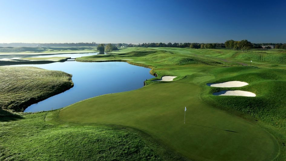 The 16th hole at Le Golf National