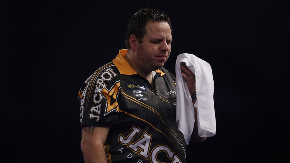 Adrian Lewis: Suspended by the PDC