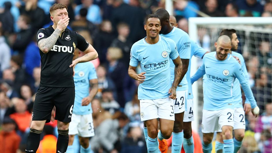 Swansea were heavily beaten by Manchester City last time out