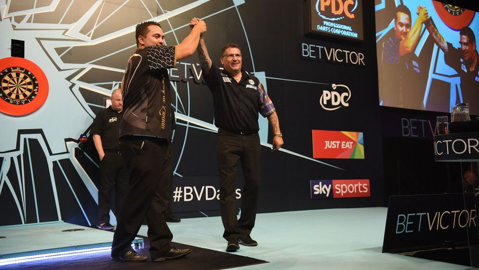 Gary Anderson defeated Jeffrey de Zwaan in the World Matchplay semi-finals (Picture: PDC/Lawrence Lustig)