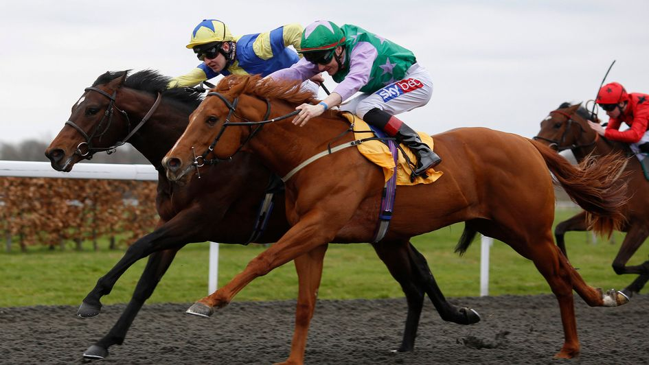 Lihou battles to Kempton glory