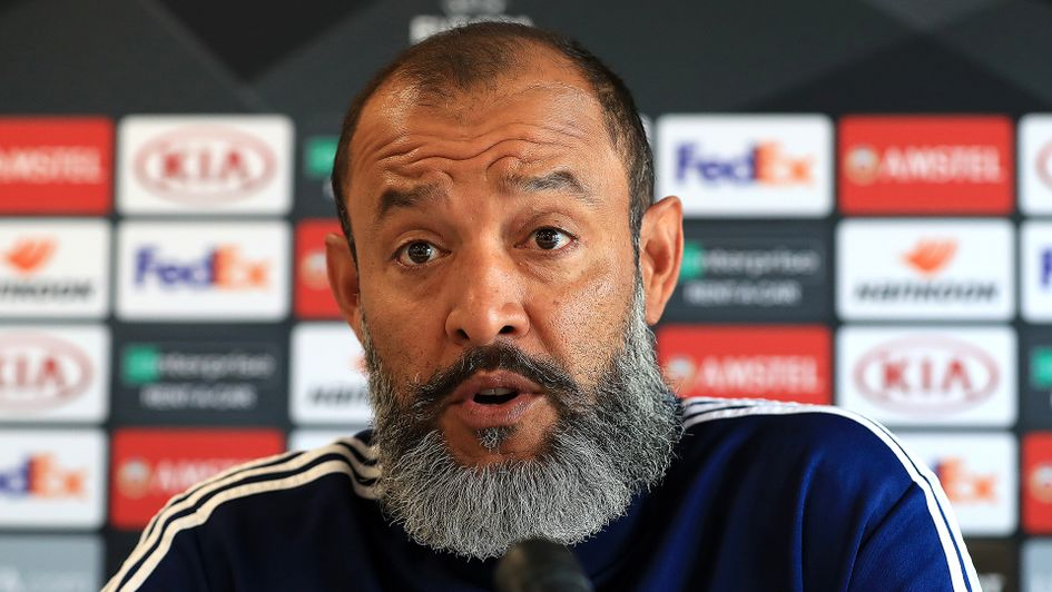 Nuno Espirito Santo speaks ahead of Wolves' clash with Braga