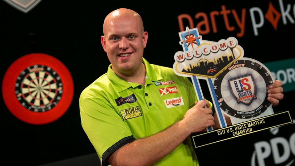 Michael van Gerwen won the US Darts Masters last season (Picture: PDC)