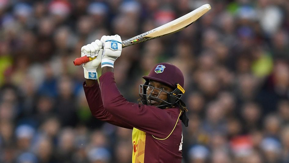 Chris Gayle: West Indian big-hitter