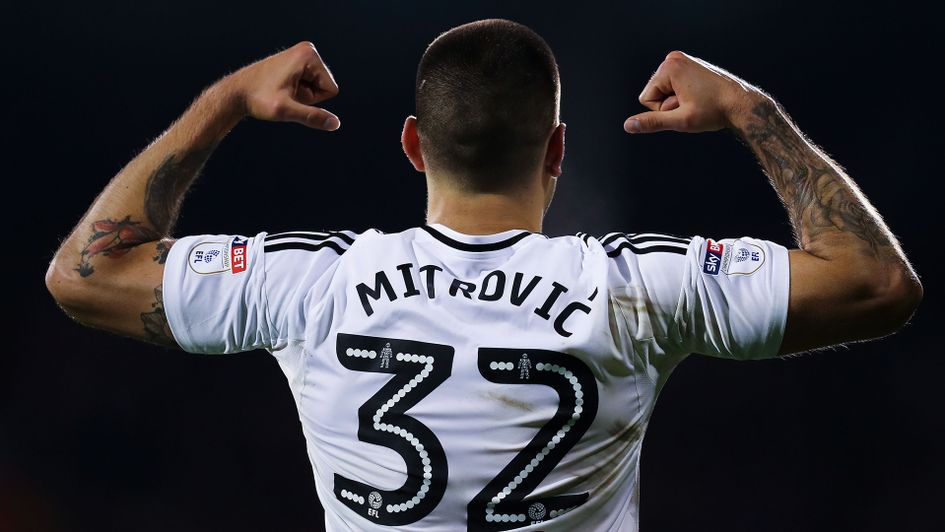 Aleksander Mitrovic will be aiming to fire Fulham back into the Premier League
