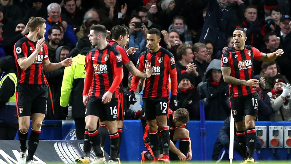 Celebrations for Bournemouth