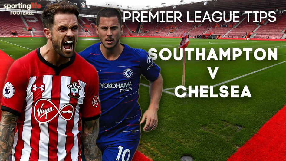 Southampton v Chelsea in the Premier League on Sunday