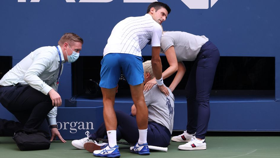 Novak Djokovic Watch As Serb Disqualified From Us Open After Hitting Line Judge With Ball