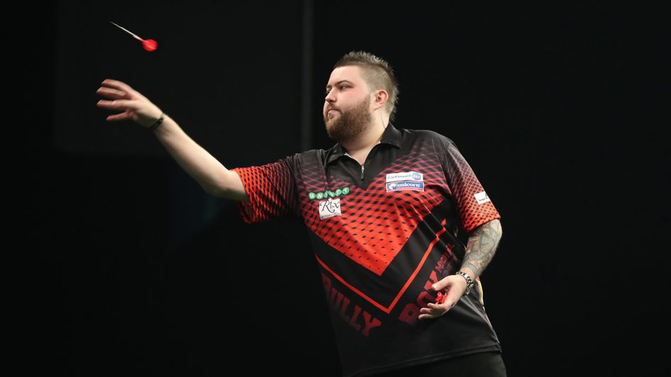 Michael Smith (Picture: Lawrence Lustig/PDC)