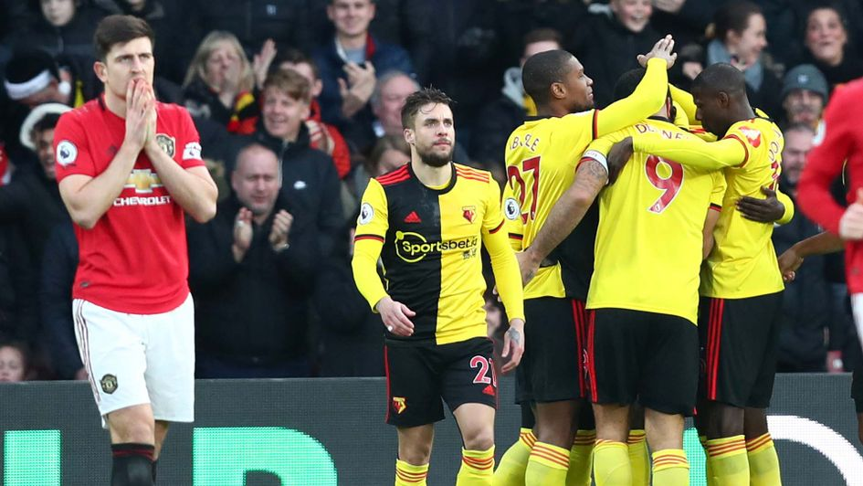 Harry Maguire in shock as Manchester United lose at Watford