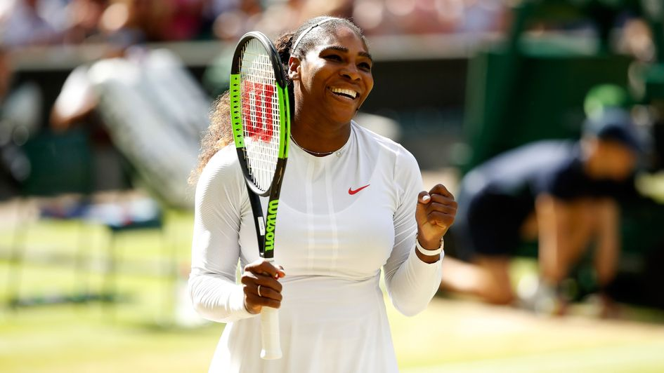 Serena Willams - warm favourite to reach another Wimbledon final