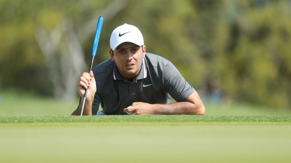 Francesco Molinari in action at the WGC-Match Play in Texas