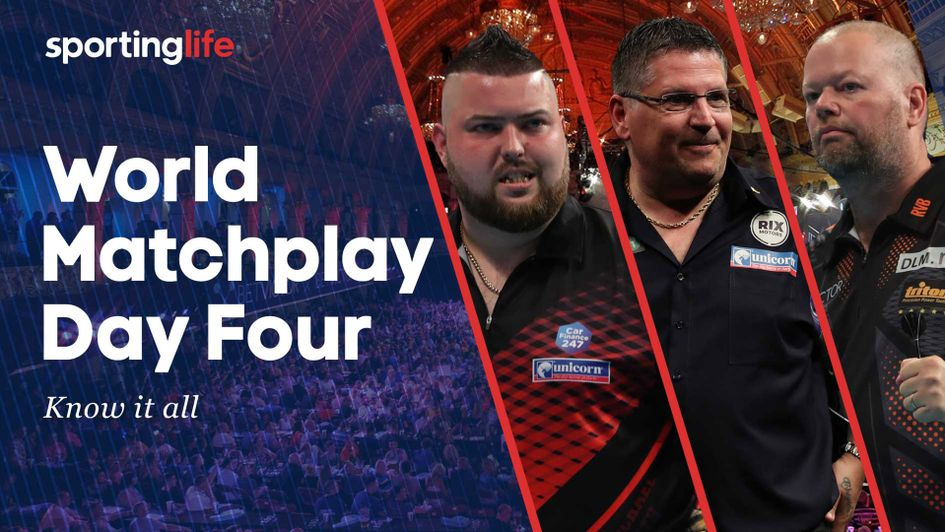 Check out our tips for day four of the World Matchplay