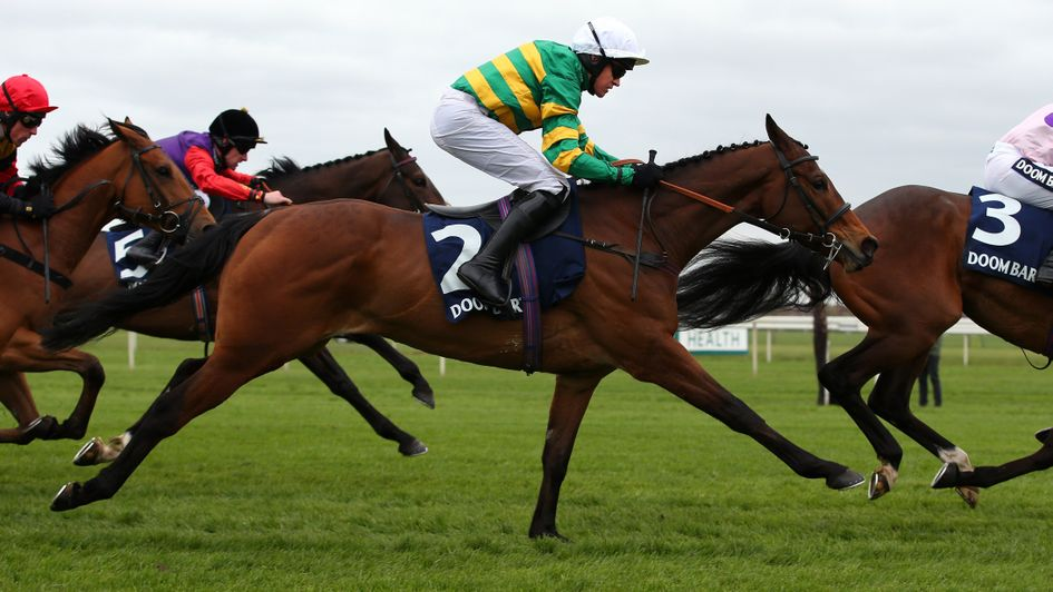 Defi Du Seuil in action at Aintree