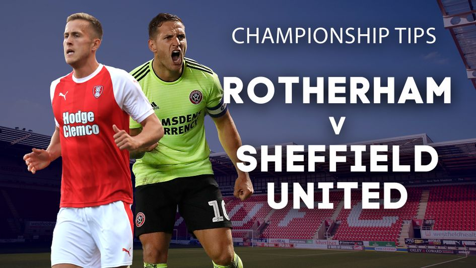 Our best bets for Rotherham v Sheffield United