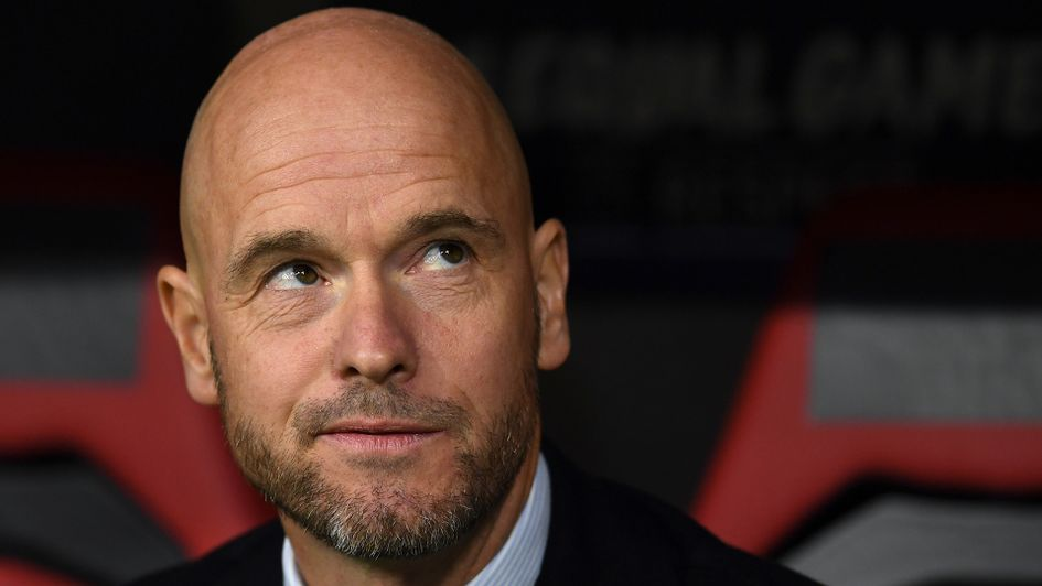 Ajax head coach Erik ten Hag