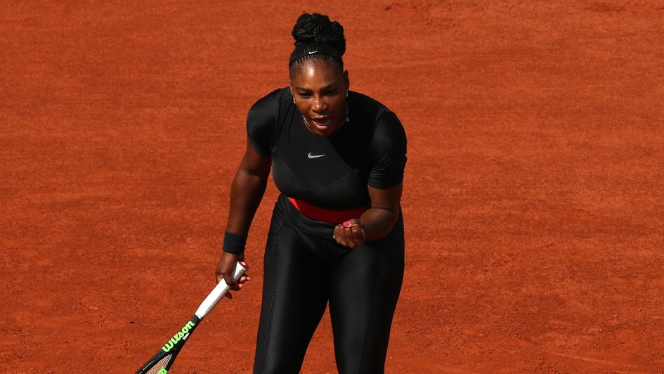 Serena Williams at the French Open