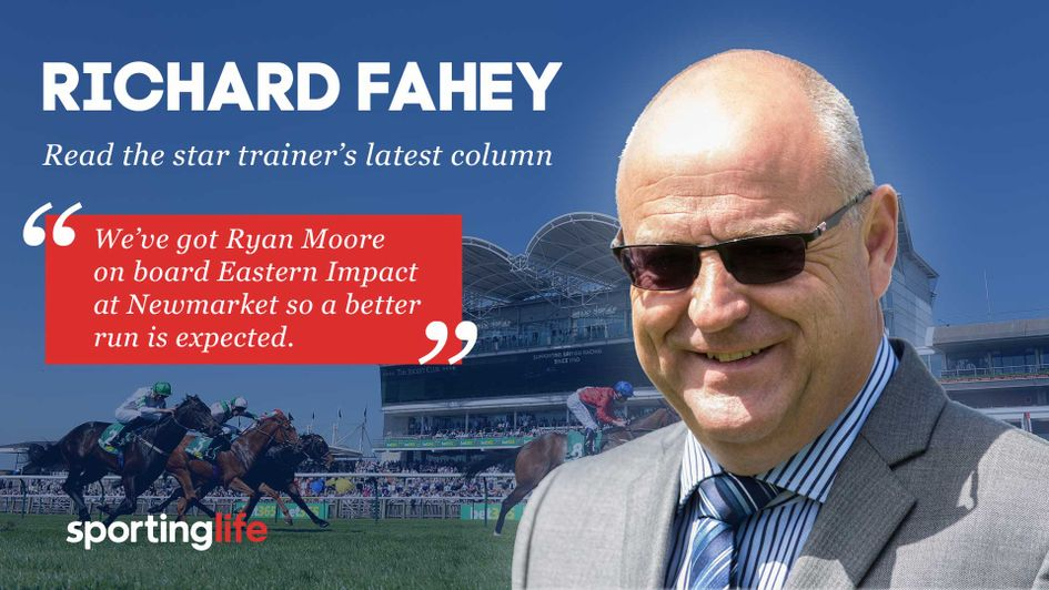 Richard Fahey reveals all about his Saturday team