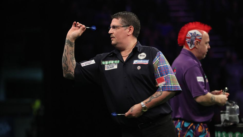 Gary Anderson got the better of Peter Wright