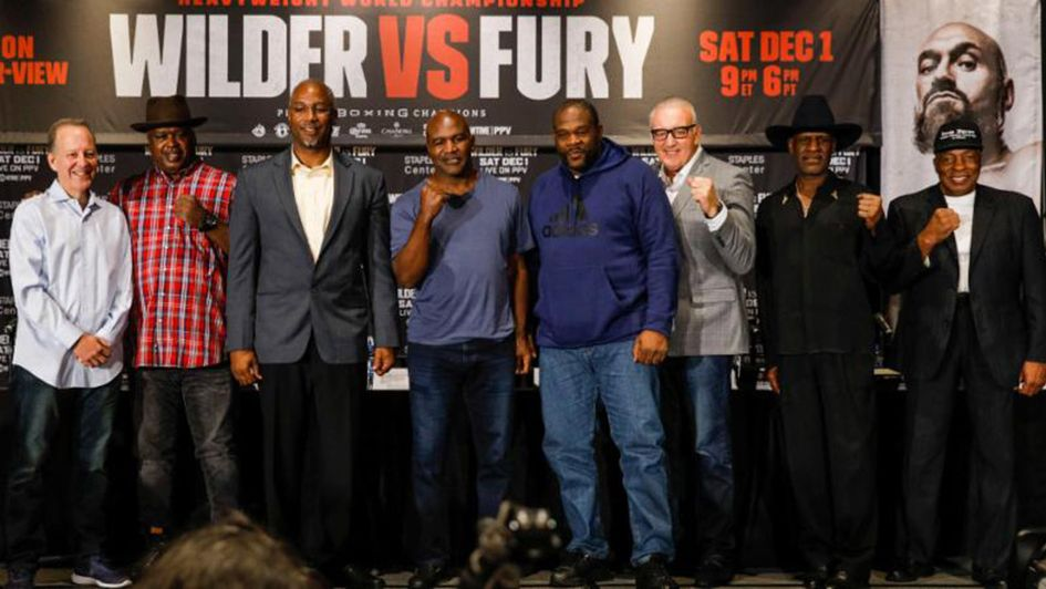 Heavyweight legends make their predictions