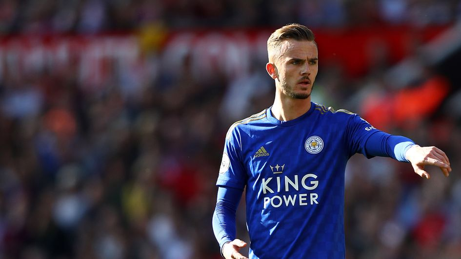 James Maddison of Leicester