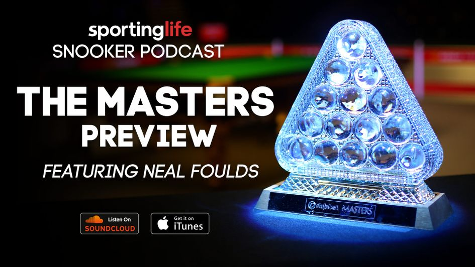 Neal Foulds joins Ben Coley and Richard Mann to preview The Masters