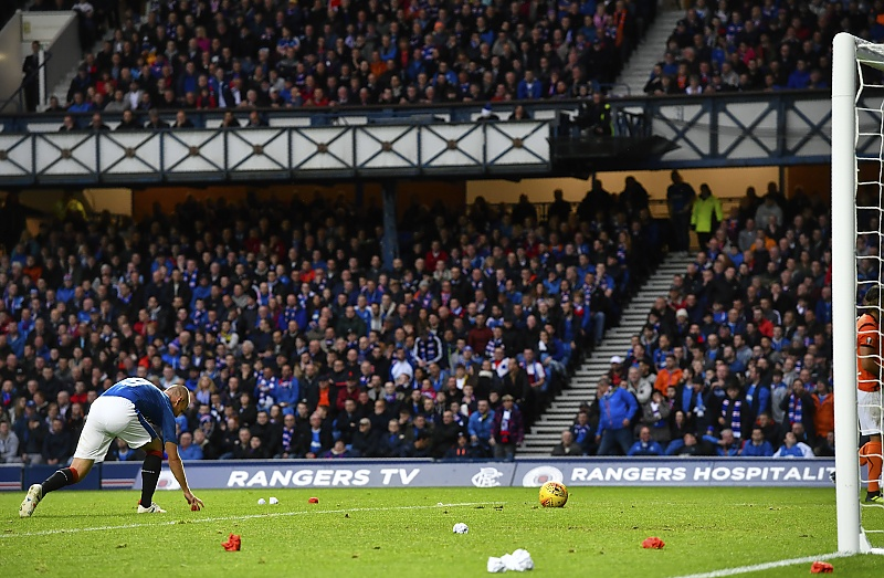 Rangers Fined For Objects Thrown On Pitch During Europa
