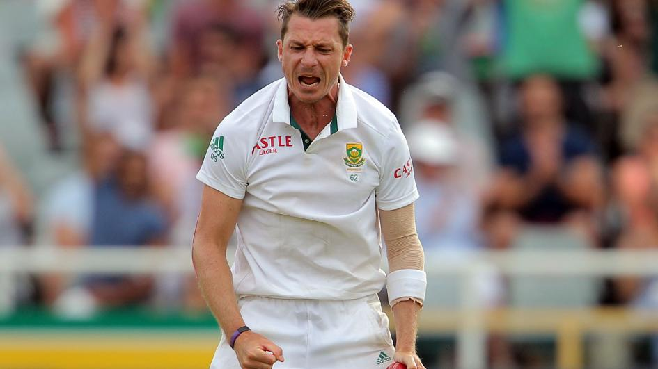 5e8de8a003d County cricket  Hampshire sign South African bowler Dale Steyn ...