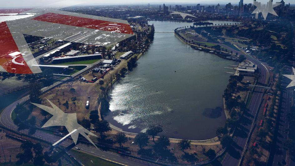 Albert Park hosts the Aussie GP