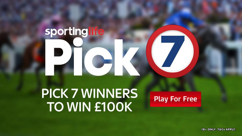 Pick 7 - Win £100,000 with the free to play game - Horse